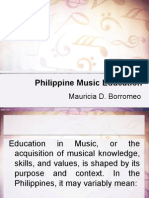 Philippine Music Education