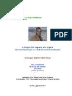 DIS_Ndele Nzau_A Língua Portuguesa Em Angola