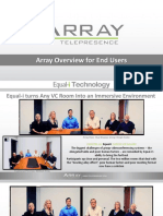 Array Overview for End-Users