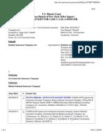 BEAZLEY INSURANCE COMPANY, INC. v. ACE AMERICAN INSURANCE COMPANY et al docket