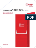 Soluciones Ignifugas en Madera