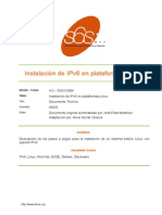 Instalacion IPv6 Linux v4 0