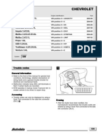 Chevrolet Códigos
