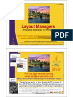 11 Java Layout Managers