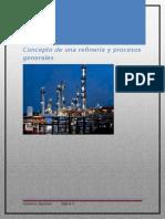 Concepto de Una Refineria y Procesos Generales (VASCONEZGIOVANNY)
