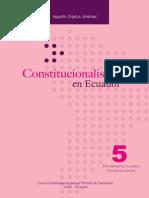 Constitucionalismo Ecuador 1ra Reimp 2012