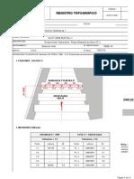Control Topografico - Disipadoras N2 - Soleras