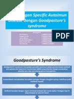 Kaitan Organ Specific Autoimun Disease Dengan Goodpasture's Syndrome