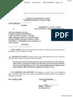 Korthas v. City of Auburn et al - Document No. 57