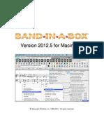 BIAB Mac Manual