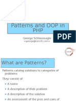 PHP 5 OOP Patterns