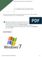Latitud E6440_ Windows 7 Instalación Del Controlador de Pedidos _ Dell Estados Unidos
