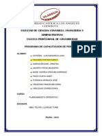 PROGRAMA DE CAPACITACIÓN DE PERSONAL