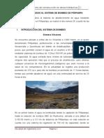 Informe de Visita Al Sistema de Bombeo de Piñipampa