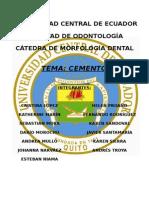 Cemento dental