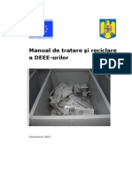 Manual Tratare Reciclare DEEE