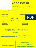 FUNÇÕES DO 1° E 2 GRAUS 1