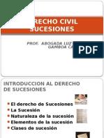 DERECHO CIVIL- SUCESIONES