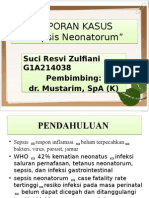 LAPORAN KASUS Sepsis Neonatorum