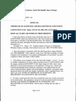 Land Patents 01 Docs