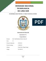 Informe_1 Campo Electrico