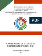 Planificación de Sistema de Gestión Integrado