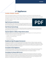 SecureSphere Appliances Datasheet FINAL (Updated 1-12-2015)