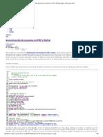 Autenticación de Usuarios en PHP y MySql _ Notas de Programación