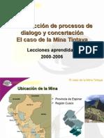 Construcci n de Procesos de Dialogo y Concertaci n. UNMSM