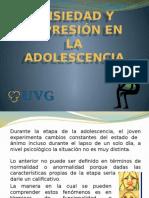 Ansiedad y Depresion en La Adolescencia