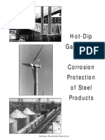 Hot Dip Galvanizing for Corrosion Protection of Steel Products