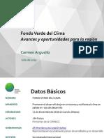 Fondo Verde del Clima Avances y oportunidades para la región_ Carmen Arguello