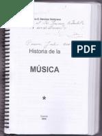 Historia de La Musica Fausto Sanchez Valdivieso