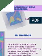 Elaboración de La Monografía
