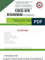 2. Serie de Reaccion de Bowenluj