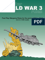 WW3 Rules - Gaming Rules 1955 to 2010 - Alienstar Publishing