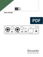 Scarlett 2i2 User Guide1