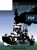 Firepower - Naval Gaming Rules 1900 to 1945 - Alienstar Publishing
