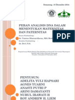 PPT Peran Genetika dalam Kedokteran Forensik