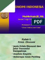 EkonomiIndonesia TM 5 KRISIs EK 15