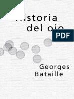 Historia Del Ojo - Georges Bataille