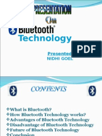 Blue Tooth Ppt