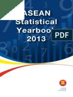 Asean Stattistical Yearbook 2013 (Publication)