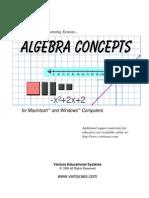 Algebra Concepts