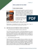 Sindicalismo en el Perú