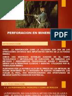 5.-Perforación Minería