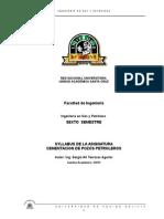 Syllabus de Cementacion Petrolera Gestion I-2013-d[1]