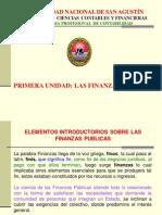 Finanzas Publicas - Primera Unidad