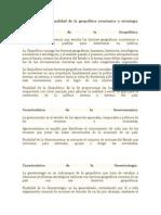 Características y Finalidad de La Geopolítica Económica y Estrategia