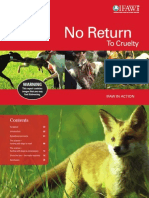 "IFAW U.K. - ""No Return To Cruelty"""